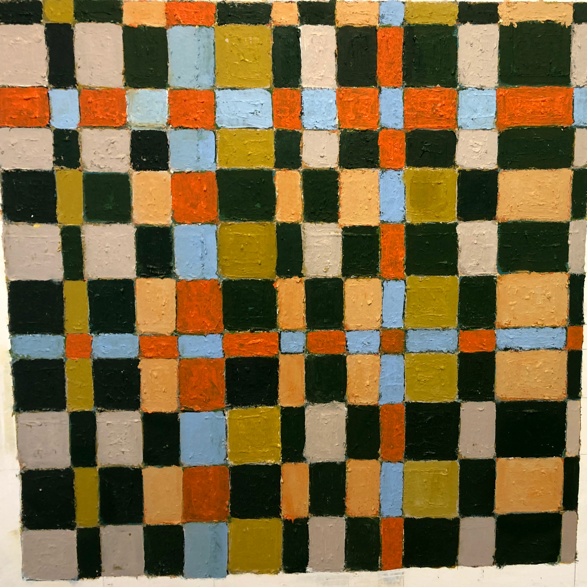Quilt Series painting by Tim Beavis